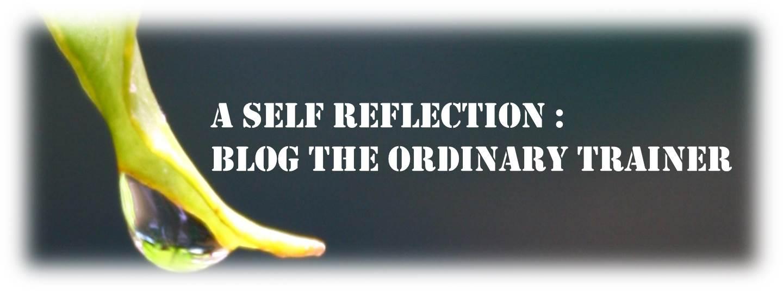 A SELF REFLECTION (lomba tengok‐tengok blog sendiri berhadiah)